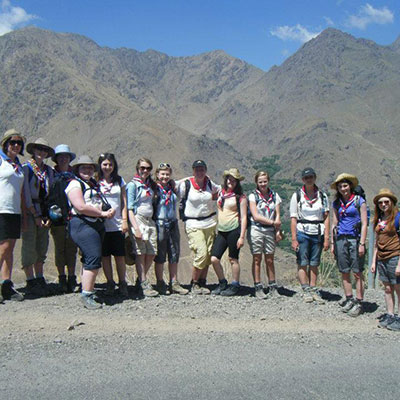Young Salford Woman Returns from Moroccan Adventure